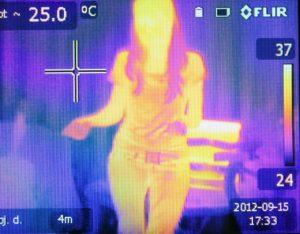 heat, image, infrared